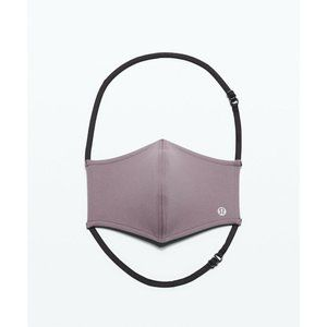 NEW LULULEMON Face Mask Authentic Frosted Mulberry
